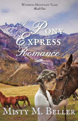 Cover for A Pony Express Romance