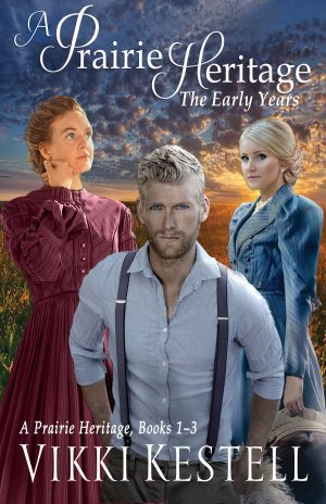Cover for A Prairie Heritage: The Early Years