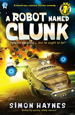 Cover for A Robot Named Clunk
