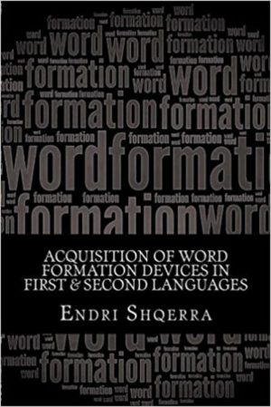 Cover for Acquisition of Word Formation Devices in First & Second Languages