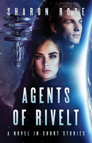 Cover for Agents of Rivelt - first 3 stories