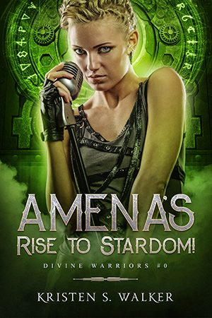 Cover for Amena's Rise to Stardom!