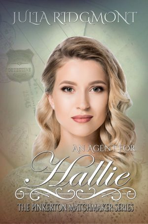 Cover for An Agent for Hallie