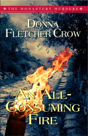 Cover for An All-Consuming Fire