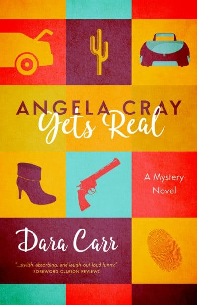 Cover for Angela Cray Gets Real