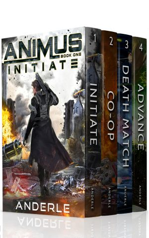 Cover for Animus Boxed Set 1