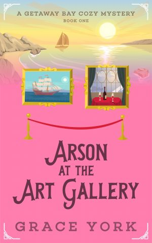 Cover for Arson at the Art Gallery