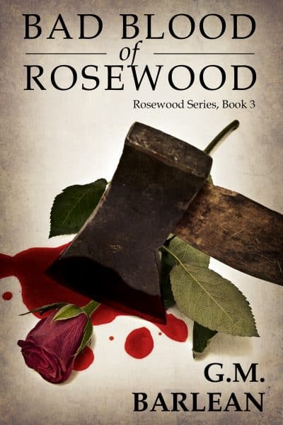 Cover for Bad Blood of Rosewood