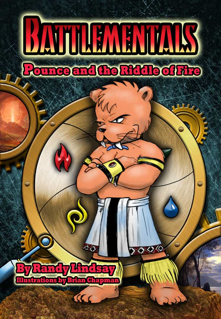 Cover for Battlementals: Pounce and the Riddle of Fire