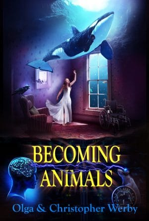 Cover for Becoming Animals