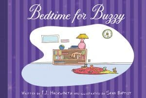 Cover for Bedtime for Buzzy