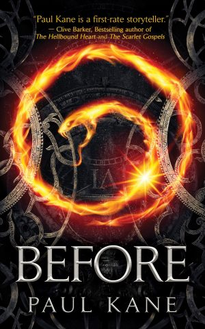 Cover for Before