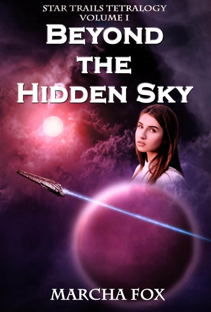 Cover for Beyond the Hidden Sky