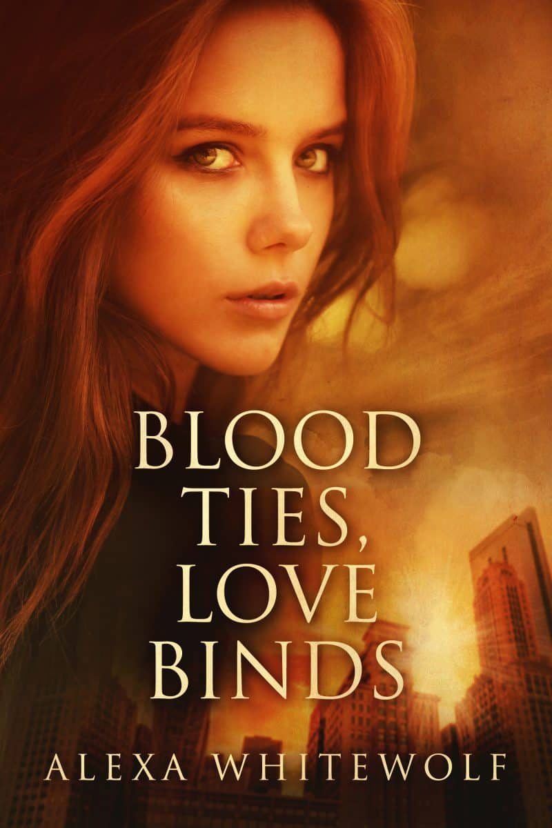Cover for Blood Ties, Love Binds