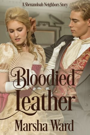 Cover for Bloodied Leather