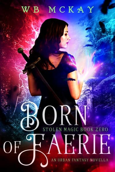 Cover for Born of Faerie