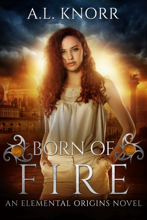 Cover for Born of Fire