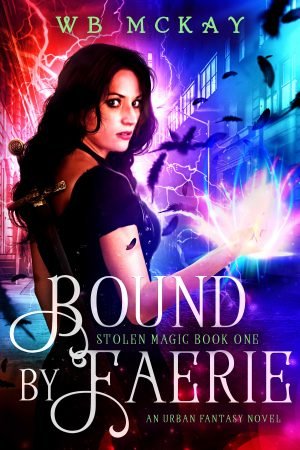 Cover for Bound by Faerie