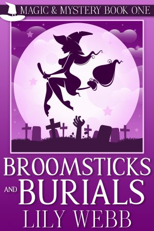 Cover for Broomsticks and Burials