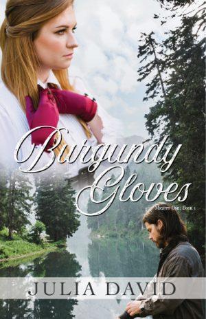 Cover for Burgundy Gloves