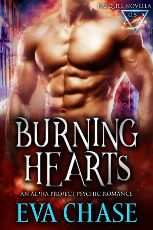 Cover for Burning Hearts