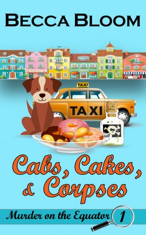 Cover for Cabs, Cakes, and Corpses