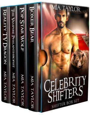Cover for Celebrity Shifters Shifter Box Set
