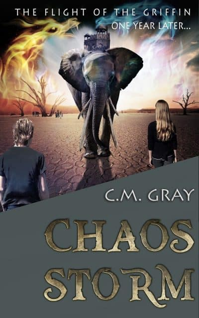 Cover for Chaos Storm