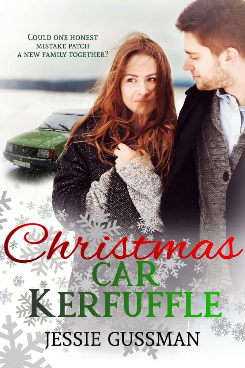 Cover for Christmas Car Kerfuffle: A Sweet Romance Christmas Novella