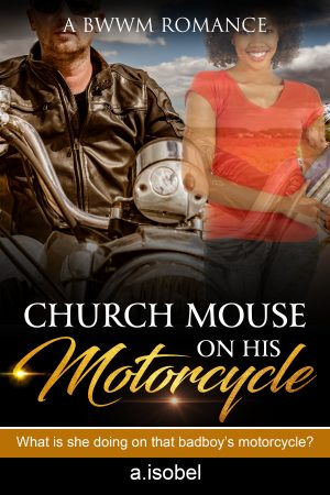 Cover for Church Mouse on his Motorcycle