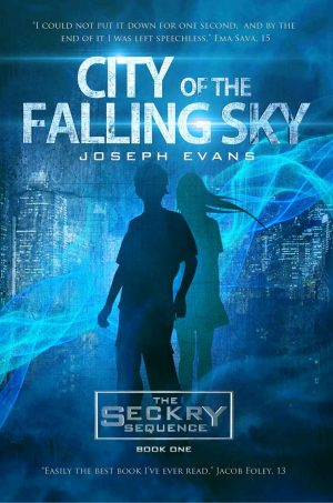 Cover for City of the Falling Sky