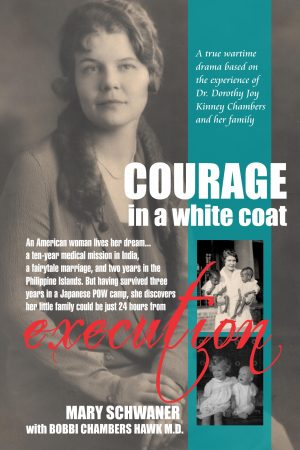 Cover for Courage in a White Coat