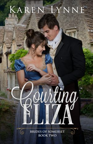 Cover for Courting Eliza
