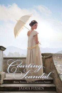 Cover for Courting Scandal
