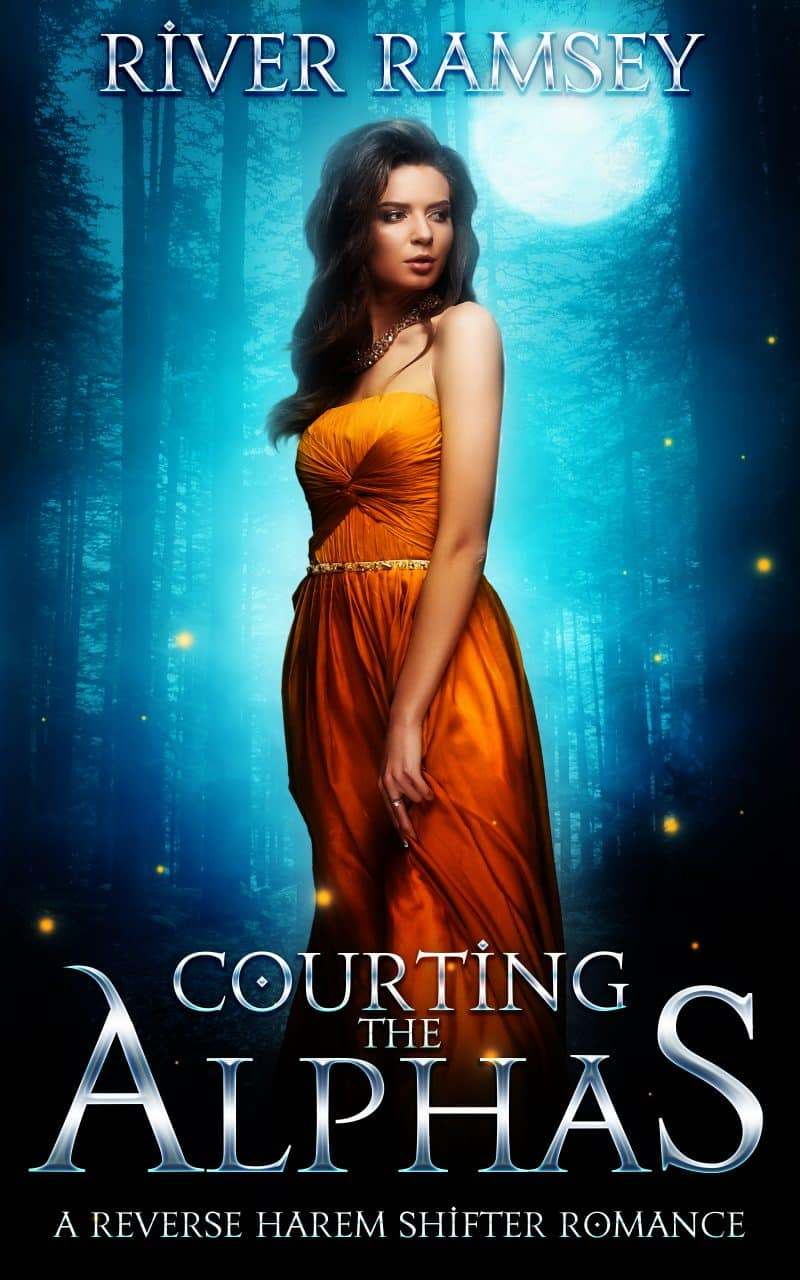 Cover for Courting the Alphas: A Reverse Harem Romance (18+)