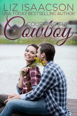 Cover for Courting the Cowboy