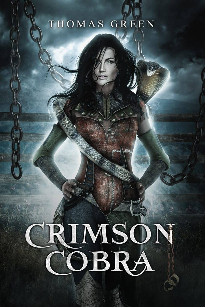 Cover for Crimson Cobra