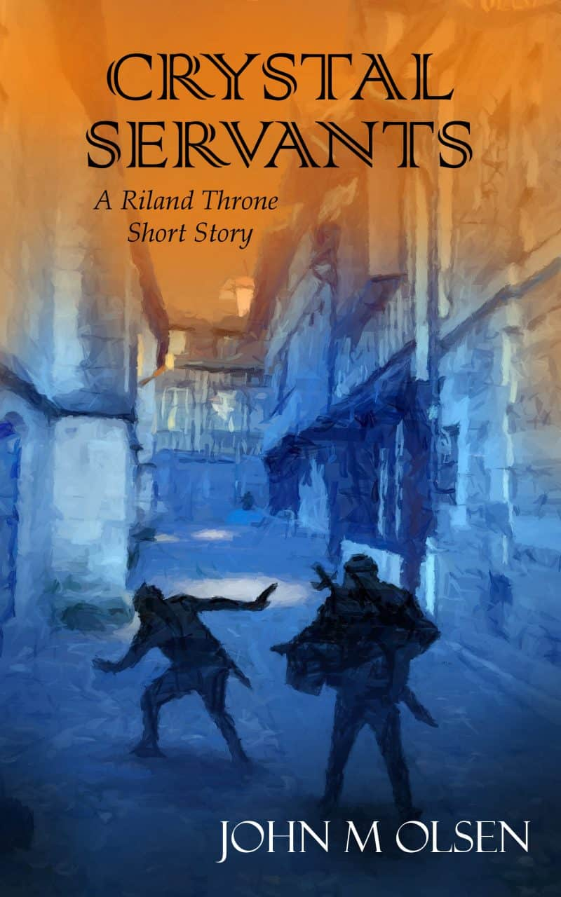 Cover for Crystal Servants: A Riland Throne Short Story