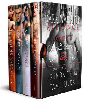 Cover for Dark Warrior Alliance Boxset Books 5-8