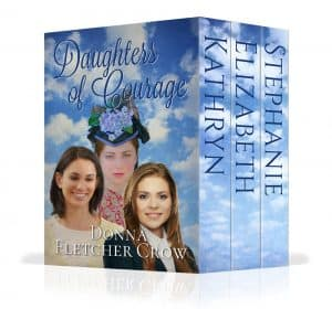 Cover for Daughters of Courage, boxed set
