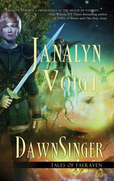 Cover for DawnSinger