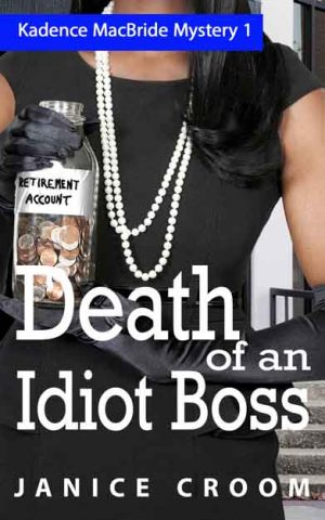 Cover for Death of an Idiot Boss