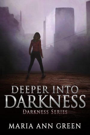 Cover for Deeper into Darkness