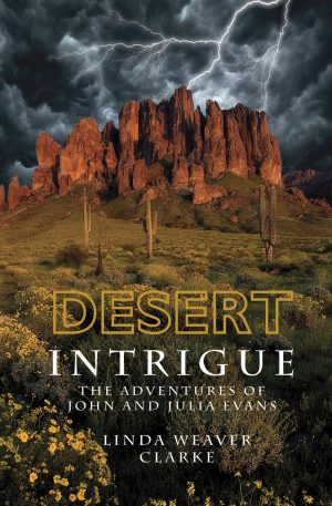Cover for Desert Intrigue