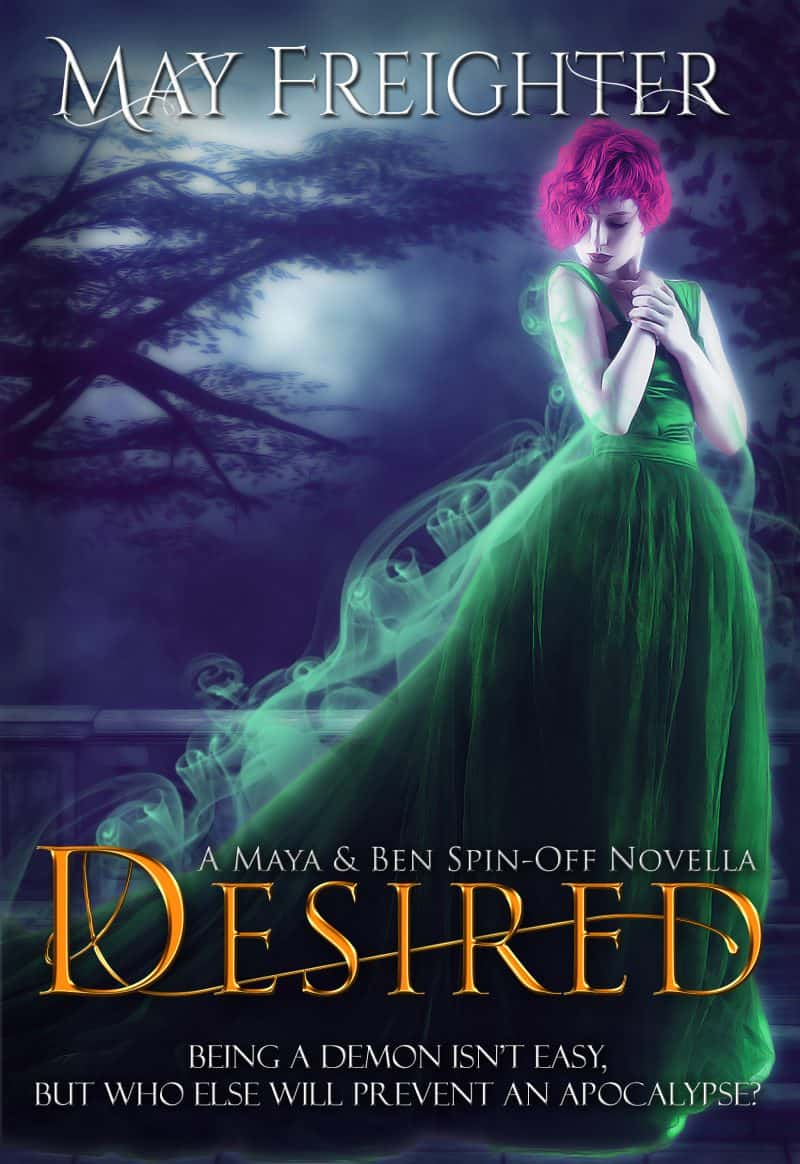 Cover for Desired: Maya & Ben's Spin-off novella