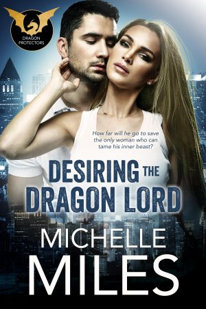 Cover for Desiring the Dragon Lord