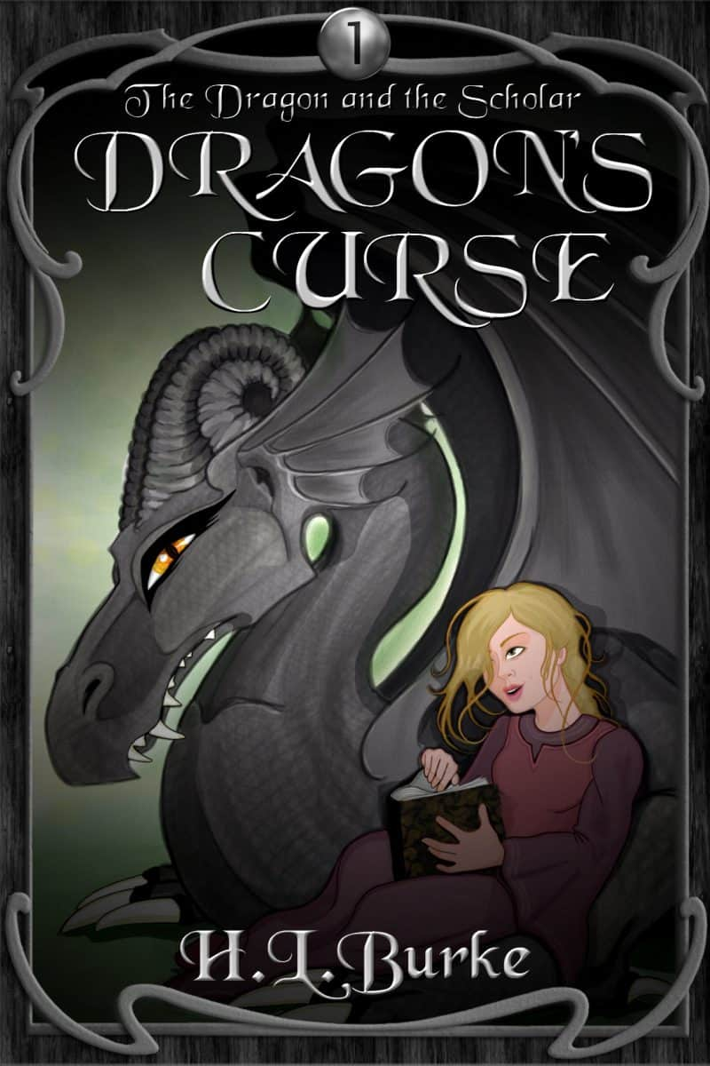Cover for Dragon's Curse: Dragon and the Scholar Saga Book 1