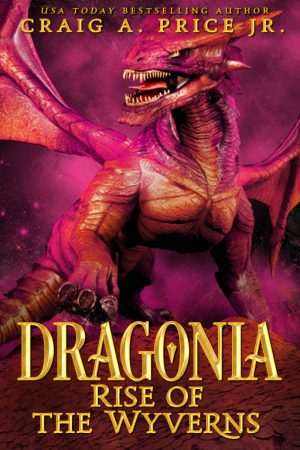 Cover for Dragonia: Rise of the Wyverns