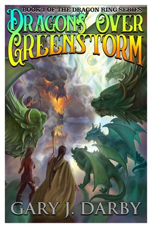 Cover for Dragons Over Greenstorm