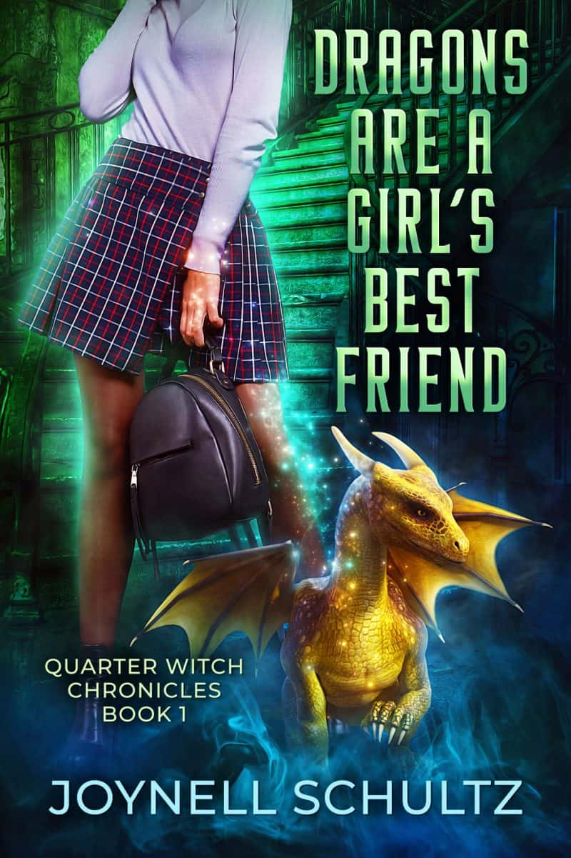 Cover for Dragons Are a Girl's Best Friend